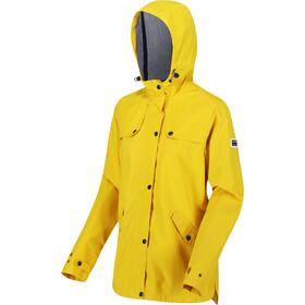 Regatta Bertille Chaqueta Impermeable Mujer, amarillo